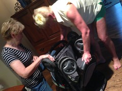 "Trying to Open Paul's Stroller • <a style=""font-size:0.8em;"" href=""http://www.flickr.com/photos/109120354@N07/14798729613/"" target=""_blank"">View on Flickr</a>"