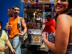 DSCF1761.jpg (john fullard) Tags: street city nyc summer urban newyork color colour manhattan candid 5thave
