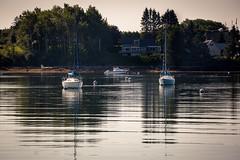 RA4A2576 (vinodjohnson) Tags: reflection boats harbor maine peamaquid