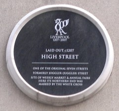 "City of Liverpool Heritage Plaque High Street • <a style=""font-size:0.8em;"" href=""http://www.flickr.com/photos/9840291@N03/14859485583/"" target=""_blank"">View on Flickr</a>"