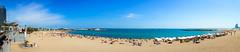 playa del somorrostro (Antonio Rosa) Tags: barcelona blue beach azul playa barceloneta blau platja somorrostro