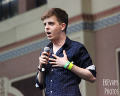 Summer in the City 2014 (ekevansphotos) Tags: city summer london comedy live hipster christopher palace professional alexandra sitc standup allypally 2014 summerinthecity bingham youtube