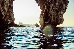 Choosing (Melissa Maples) Tags: sea summer cliff water skyline turkey nikon asia mediterranean trkiye antalya nikkor vr afs  18200mm  f3556g  18200mmf3556g d5100