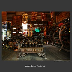 traveler : Modern Fusion Tourist Art (tofu_minx) Tags: travel tourism thailand asia