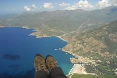 RU_201408_CapudOrto_063_a (boleroplus) Tags: mer horizontal port frankreich corse porto plage fra montagnes parapente randonnée vueaérienne