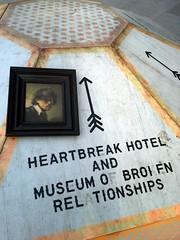 Heartbreak Hotel and Museum of Broken Relationships (PyriteSoulfox) Tags: london southbank rembrandt heartbreakhotel myrembrandt