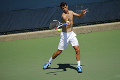 Grigor Dimitrov Forehand (BenG94) Tags: ohio cincinnati tennis bulgaria 2014 forehand grigordimitrov westernsouthernopen