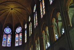 Notre Dame Cathedral (jpellgen) Tags: city travel summer paris france church architecture french nikon europe european catholic 4th august stainedglass notredame tamron 2014 18200mm d5100