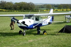 G-BFOG (IndiaEcho Photography) Tags: england canon airplane eos fly airport aircraft aeroplane 150 microlight popham cessna basingstoke in aifield eghp 1000d gbfog