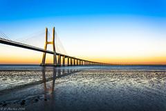Ponte Vasco da Gama, Lisboa. (Vasco da Gama Brigde, Lisbon) (JPMartyns84) Tags: portugal nikon lisboa lisbon ngc autofocus top20bridges greatshotss