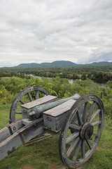 Cannon (historygradguy (jobhunting)) Tags: ny newyork water river landscape gun saratoga upstate weapon cannon artillery hudsonriver hudson battlefield saratoganationalhistoricalpark greatredoubt bemisheights saratoganhp