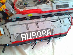 Aurora Exterior Detail Name (LegoSpaceGuy) Tags: brick ship lego space scifi spaceship sci starship moc classicspace