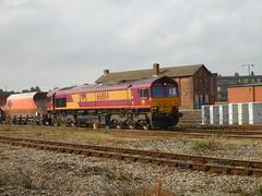66084 (Boothby97) Tags: gm br diesel derby dbs class66 ews diesellocomotive 66084 derbyrailwaystation class660 dbschenker 6m11 aggregatehoppers