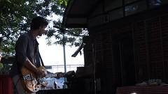 "Dinshaw sings ""The Boxer"" at Pier 45 (Ed Yourdon) Tags: newyork manhattan hudsonriverpark greenwichvillage pier45 theboxer dinshaw everyblock hudsonrivercafe"