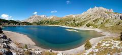 018_Lac d'Allos 08-14 (aups83) Tags: camping panorama mountain lake france alps montagne french nikon rando lac ciel provence mercantour allos d90 bivouac alpesfrançaises lacdallos