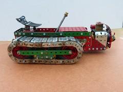 Ransomes MG crawler tractor  4 (Elsie esq.) Tags: model meccano crawler mg2 ransomes