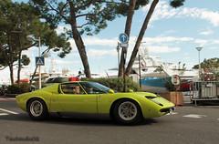 Lamborghini Miura P400 S 1969 (tautaudu02) Tags: auto show cars automobile s monaco moto motor legend lamborghini coches voitures miura 2014 p400