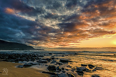 New Day (kurianjosephphotography) Tags: morning orange seascape colors canon amazing cloudy sydney australia newsouthwales 6d surise austinmer colorsoflife livelife littleausti