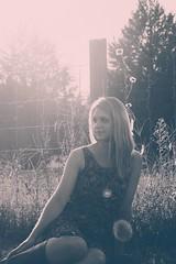 DSC_0054 (Marceline H) Tags: blackandwhite sun model nikon sister flare practice sunflare lightroom nikond3200 d3200