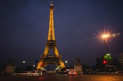 (CreART Photography) Tags: street travel bridge paris nikon eiffeltower birhakeim parisbynight bridgeofparis