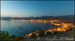 Anochece en La Azohia (JuandeCT) Tags: sunset atardecer noche cartagena laazohia