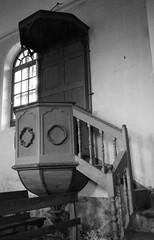 La chaire (Ysalis.net) Tags: blackandwhite church 35mm canoneos500n fomapan