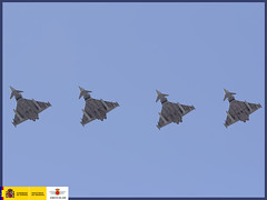 Ejercicio DACEX-DACT 2014 (Ejército del Aire Ministerio de Defensa España) Tags: dact 2014 eurofighter f18 c101 base aérea de gando dacex macom mando aéreo combate aviation militaraviation fighter aviación caza