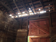 Horse Stall (jenniferhansen88) Tags: horse abandoned barn ancient peaceful desolate stable sunbeams rafters mysterous horsestall