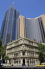 Grand Hyatt & 101 Collins Street, Melbourne, Australia (JH_1982) Tags: street building architecture skyscraper buildings hotel skyscrapers australia melbourne grand victoria 101 highrise hyatt vic australien collins highrises australie austrlia   australi