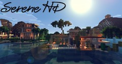 Serene HD Realistic Resource Pack 1.10.2/1.9.4 (MinhStyle) Tags: minecraft game online video games gaming