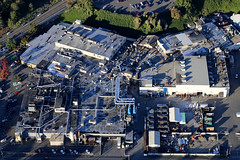 factory in Clackamas (pdx.rollingthunder) Tags: aerial aerialphotography oregon pacificnw aviation flight cessna mthood mounthood portland