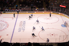First Period (dtstuff9) Tags: toronto ontario canada world cup hockey air centre center arena ice sports europe sweden semi finals 2016