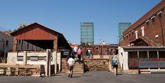 """Number Four"", the Old Fort Prison Complex on Constitution Hill, Johannesburg (amanda & allan) Tags: southafrica johannesburg joburg jozi constitutionhill fort prison mandela ghandi numberfour"