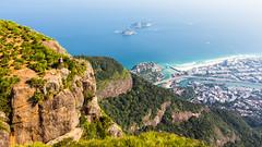 IMG_5090-3 (sergeysemendyaev) Tags: 2016 rio riodejaneiro brazil pedradagavea    hiking adventure best    travel nature   landscape scenery rock mountain    high forest  ocean   blue serenity    beautiful beauty