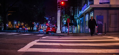 take my picture for $20 (pbo31) Tags: california nikon d810 october fall 2016 bayarea night dark black boury pbo31 color sanfrancisco city urban pink vannessavenue cathedralhill motionblur crosswalk stranger homeless