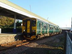 150232 Falmouth Docks (3) (Marky7890) Tags: gwr 150232 class150 sprinter 2f70 falmouthdocks railway station cornwall train maritimeline
