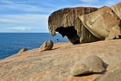 Remarkable Rocks (simone_a13) Tags: australia southaustralia kangarooisland flinderschasenationalpark rock geology nationalpark humanscale rockformation