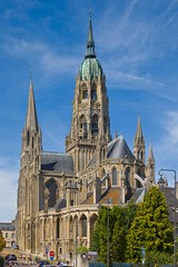 Bayeux cathedral (ianhb) Tags: france bayeux cathedral gothic stone