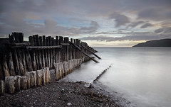 Porlock Weir - Groins (Ray Beauchamp) Tags: groins longeexposure northsomerset