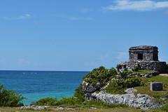 Tulum (Araceli San Martin) Tags: mar tulum ciudad maya muralla cultura historia la mejor playa del mundo fortaleza turquesa riviera