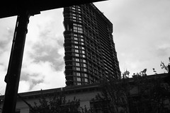 20October2016 brief cloudage and then fade to grey (roland) Tags: grey cloudage cloudy clouds fluffyclouds gastown vancouver blackandwhite w2 woodwards