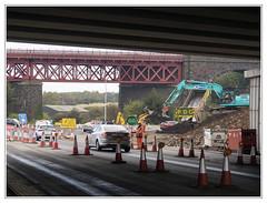 Ferrytoll Jamestown Viaduct 2 (The Anti-Sharpness League) Tags: jadmor olympus queensferry crossing micro 43 fife forth road bridge