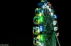 merry-go-round (mrinal pal photography) Tags: fun enjoyment amusement ride mrinal beautiful rotating circular platform delhi india