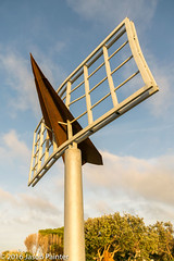 Signed (Jonathon Leahey) (Japester68) Tags: art 3star day outdoor sea dart event ocean billboard plane reserve sculpture paper pole park sign coast rust metal tamarama nsw australia aus