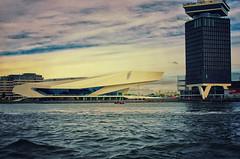 IMGP9336hdr (hans hoeben) Tags: eyefilmmuseumbuilding amsterdamholland eye building ij amsterdam hdr pentax k5 tamron af28300mm f3563 ld asphericalifmacro center hans dutch seascape water holland tourist cruise canal flickr hoeben