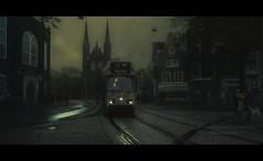 Autumn Came (Nico Geerlings) Tags: ngimages nicogeerlings nicogeerlingsphotography amsterdam spui tram autumn rain raining rainy holland netherlands fujixt2 xf14mm fujifilmxt2 cinematic cinematography cinematicstyle