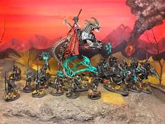 "Age of Sigmar ""Start Collecting"" Skeleton Horde box set. (Huffing Paint) Tags: age sigmar neferata skeletons warhammer games workshop black knight skeleton horde"