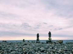 Codols city (chrysalismo) Tags: sea tower piedras codols stones iphone iphone6 spain espaa eivissa ibiza beach playa