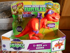 The T-REX set from TMNT half shell toy line (ItalianToys) Tags: toy toys giocattolo giocattoli tmnt half shell ninja turtle tartarughe dinosauro dinosaur donatello donnie