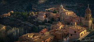 Salida del sol en Albarracín (Turuel)